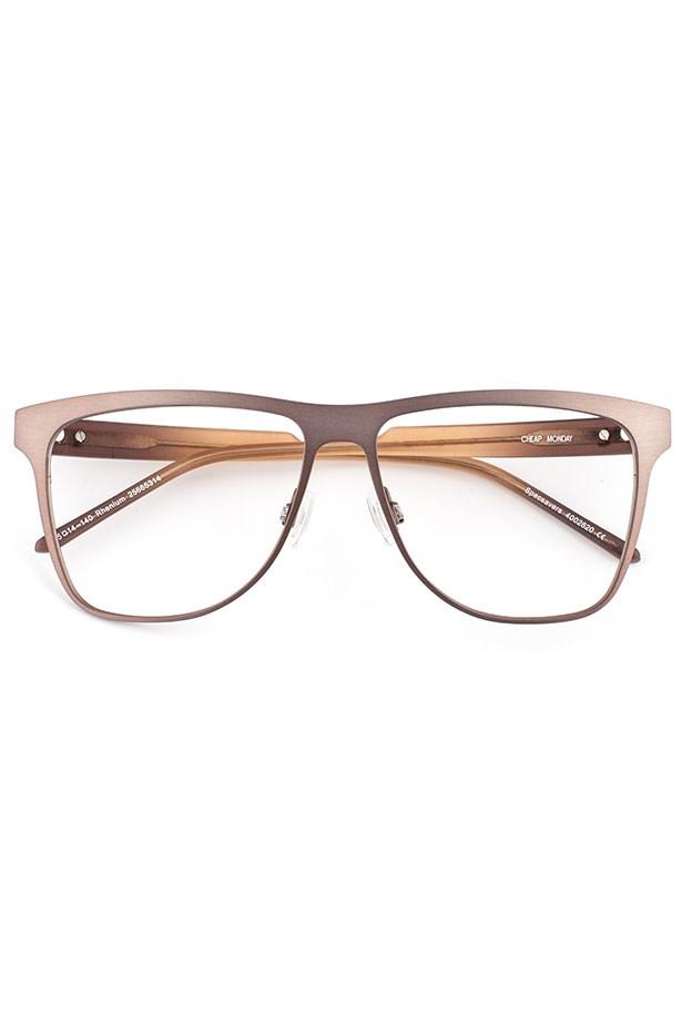 """Frames, $89, Cheap Monday, <a href=""""http://www.specsavers.com.au/glasses/rhenium?sku=25665314"""">specsavers.com.au</a>"""