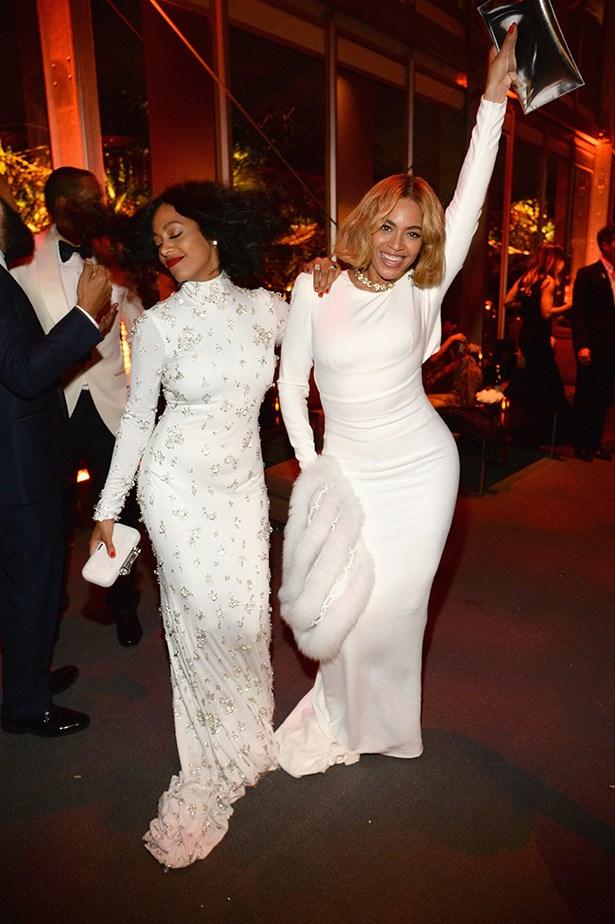 Beyoncé and Solange Knowles