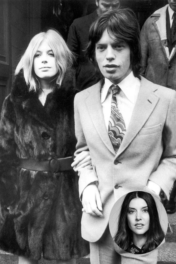 "Marianne Faithfull and Mick Jagger<p> <p> ""Marianne Faithfull and Mick Jagger were the perfect '60s power couple – it's the two of them together that inspire me. They owned and wore every key piece from the '60s that are now being reworked on the runway. They really inspired the '70s and looked so cool. I would never wear head-to-toe '70s vintage, but I love to play around in the archives and mix those pieces into my winter wardrobe."" – Rachel Wayman, Fashion Director"