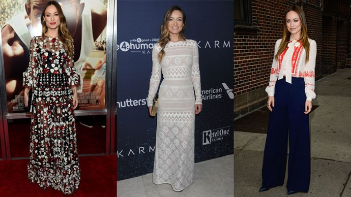 <strong>Who:</strong> Olivia Wilde <br> <strong>Signature Style:</strong> bohemian