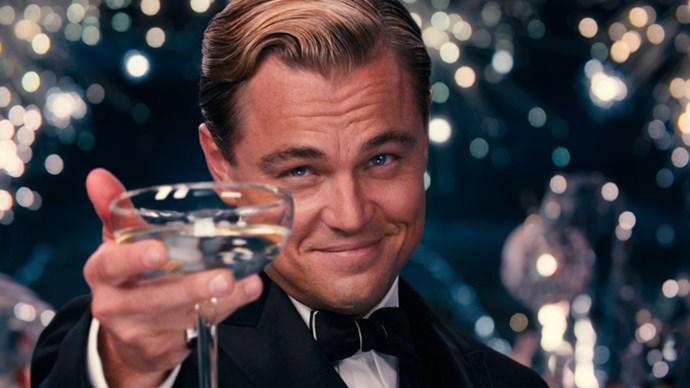 Leonardo DiCaprio in The Great Gatsby