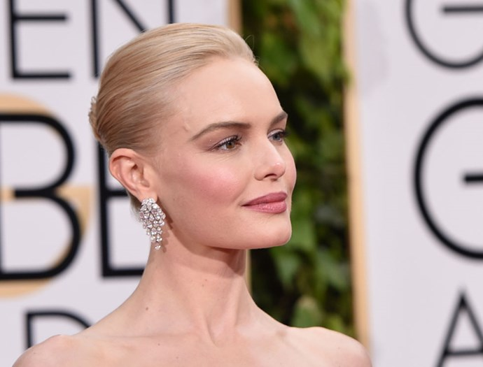 """<strong>KATE BOSWORTH (<em>THE ART OF MORE</em>)</strong> <br><br> """"Oh, there were a few! My straps for my shoes are literally duct-taped together because they caught on the inside of my dress. The sequins are held together by netting and they caught on the netting and were pulling. I'm presenting tonight and I thought, 'Oh no, I don't want trip or something.' So my stylist duct-taped the shoes together and that was not very glamorous. But it was also very necessary."""""""