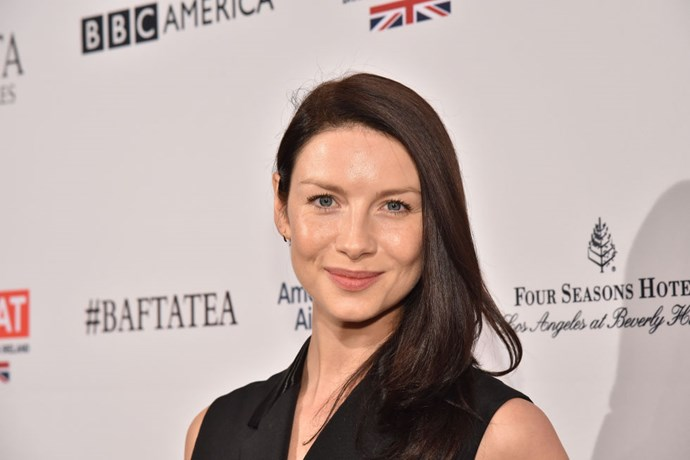 """<strong>CAITRIONA BALFE (<em>OUTLANDER</em>)</strong> <br><br> """"I stayed up later than I wanted to last night and so I rolled out of bed and went for breakfast with my two friends downstairs before I had a shower. That's not very glamorous! But I swear I showered after."""""""