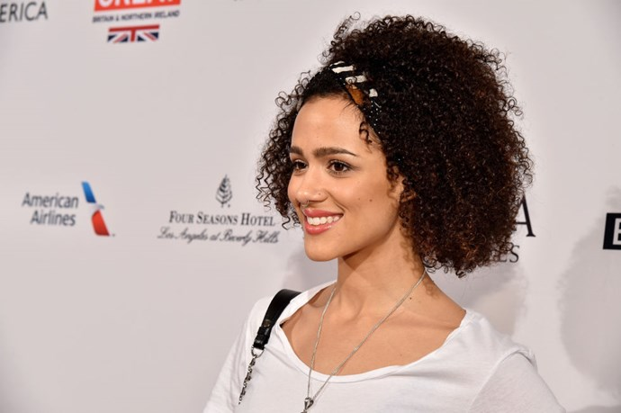 """<strong>NATHALIE EMMANUEL (<em>GAME OF THRONES</em>)</strong> <br><br> """"I went pedal-boating with my godson this morning. We went at Echo Park Lake and had a great time. Although he was like, 'I'm going to help pedal!' and didn't. But it was great and we had fun."""""""