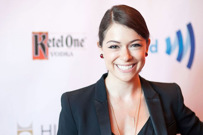 """<strong>TATIANA MASLANY (<em>ORPHAN BLACK</em>)</strong> <br><br> """"Everything! I sweated. I was a person. I existed as a human being. And I farted."""""""