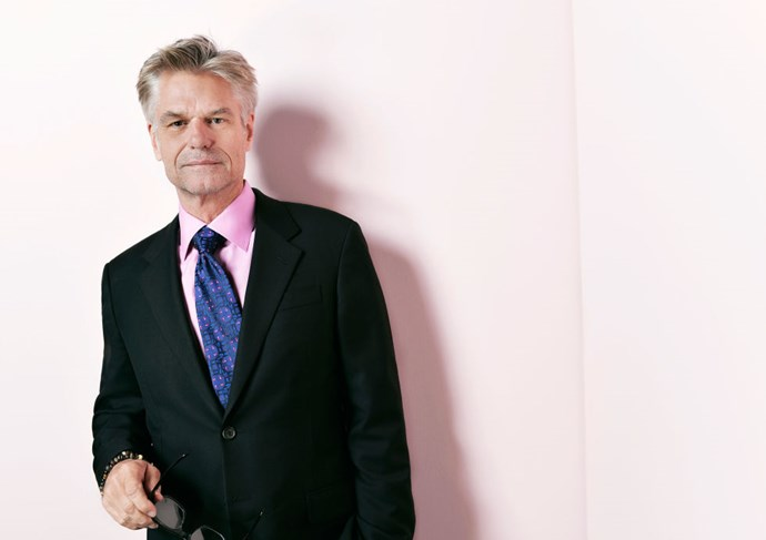 """<strong>HARRY HAMLIN (<em>MAD MEN</em>)</strong> <br><br> """"I spray painted 12 carriage bolts and made them white. They were black."""""""