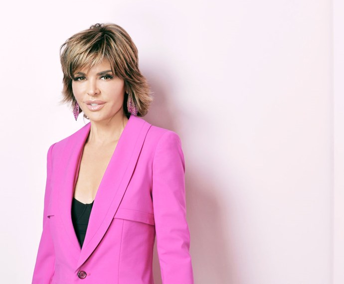"""<strong>LISA RINNA</strong> <br><br> """"I flew from Pennsylvania on US Airways. How about that?"""""""