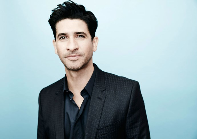 """<strong>RAZA JAFFREY (<em>HOMELAND</em>)</strong> <br><br> """"I had my leaf blower out. I blew the leaves off my path because my mum and dad arrive from London this evening. So I was out there with the leaf blower this morning in my boxer shorts. Maybe you don't want to know that last bit!"""""""