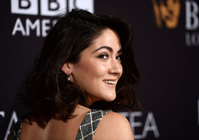 """<strong>ISABELLE FUHRMAN (<em>MASTERS OF SEX</em>)</strong> <br><br> """"I did my own hair and makeup. I try and remember the things people do when they do my hair and makeup, which is difficult. I pinned my hair up in these curls and I looked like I had an afro. It looked so bad. It looks good now because I brushed it out."""""""