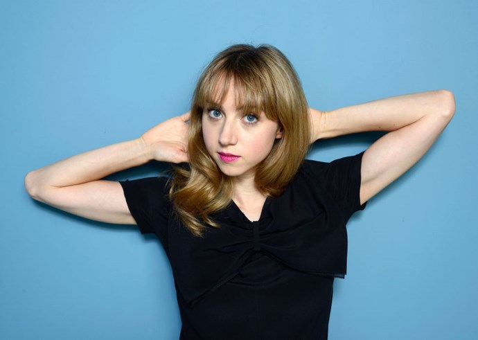 """<strong>ZOE KAZAN (<em>OLIVE KITTERIDGE</em>)</strong> <br><br> """"Lay on the floor with my friends' dogs. I can't do that here. It would give some bad photo opportunities for sure."""""""