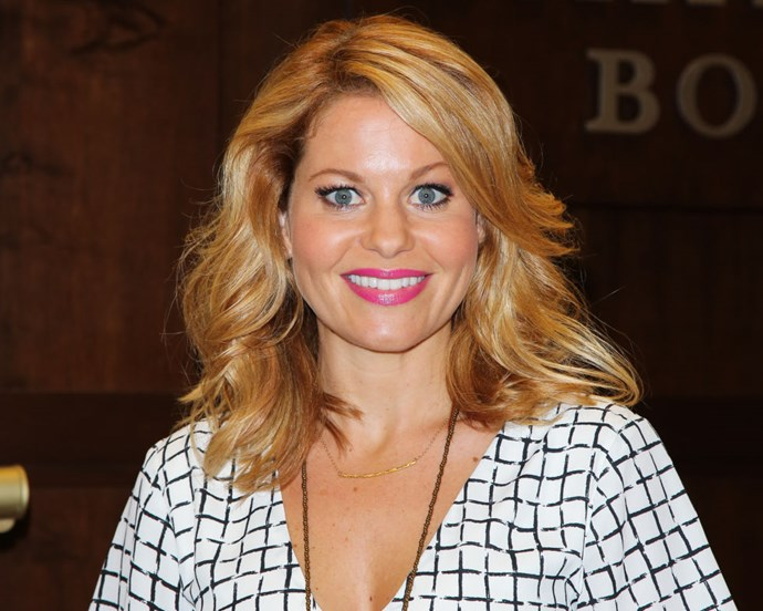 """<strong>CANDACE CAMERON BURE (<em>FULLER HOUSE</em>)</strong> <br><br> """"I worked all day! I had meetings all day. And then I took my dog for a walk. That's pretty anti-red carpet."""""""