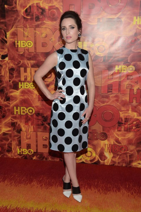 """<strong>ZOE LISTER JONES (<em>NEW GIRL</em>)</strong> <br><br> """"I got fully dressed and made up and then I went to sleep. I was so tired and I was like, 'I've got time.' I knocked out a little nap and then I got back up, brushed my eyes off, and came here. You've got to get it in where you can!"""""""