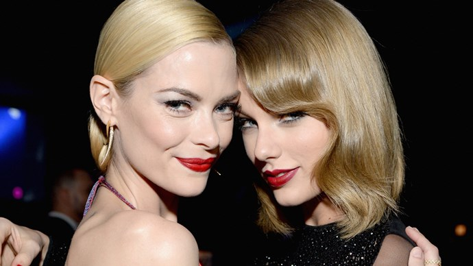 Jaime King and Taylor Swift.