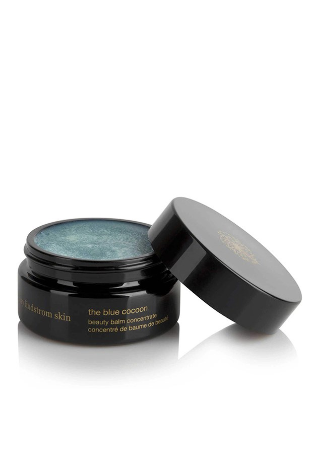 <strong>Brand: May Lindstrom Skin</strong> <br><br> Handmade using only naturally sourced ingredients; the brand offers a range of products that are both delightfully decadent and environmentally ethical.  Their Blue Cocoon Beauty Balm Concentrate is a clever little multi-tasker that harnesses the powerful anti-inflammatory properties of Blue Tansy oil for a luxuriously cool, melt-to-the-touch balm that soothes irritated skin and helps to relieve anxiety and tension. Serenity-in-a-jar – you're welcome. <br><br> <em>The Blue Cocoon Beauty Balm Concentrate, $160, May Lindstrom Skin, maylindstrom.com </em>