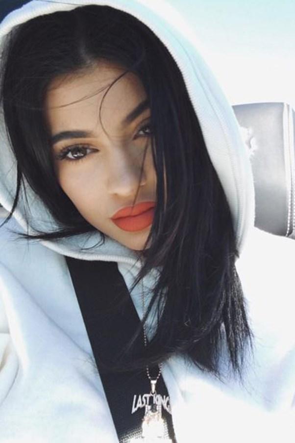 Kylie Jenner selfie.