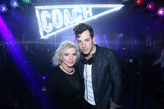 Debbie Harry and Mark Ronson