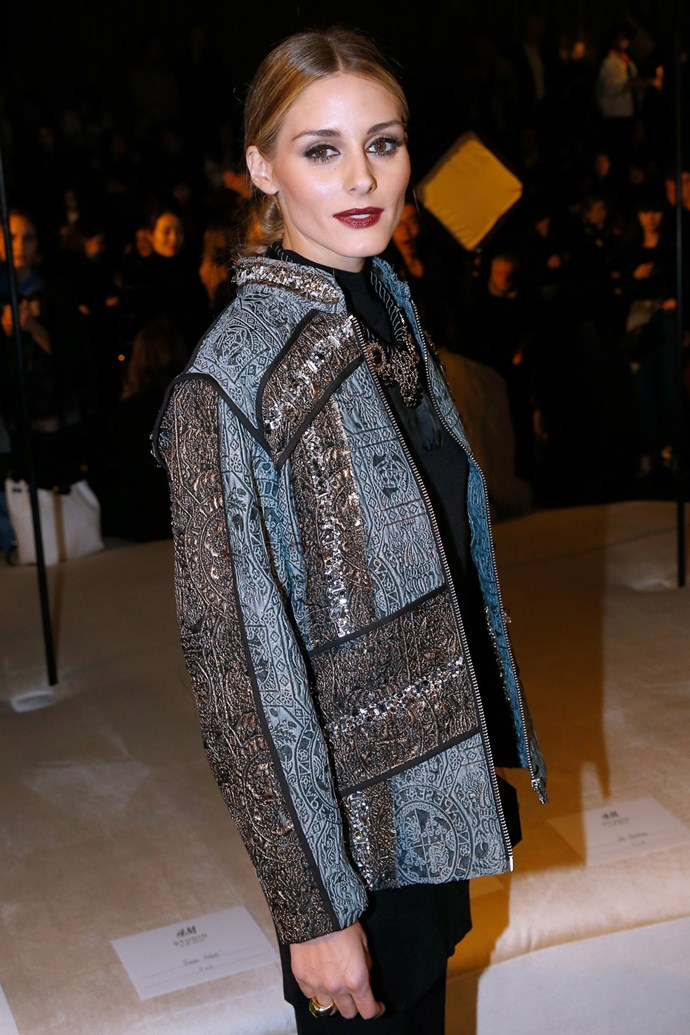 Olivia Palermo at H&M