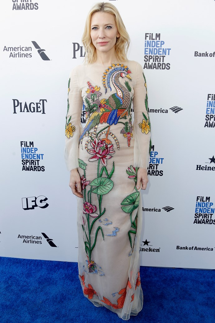 Cate Blanchett at the Film Independent Spirit Awards