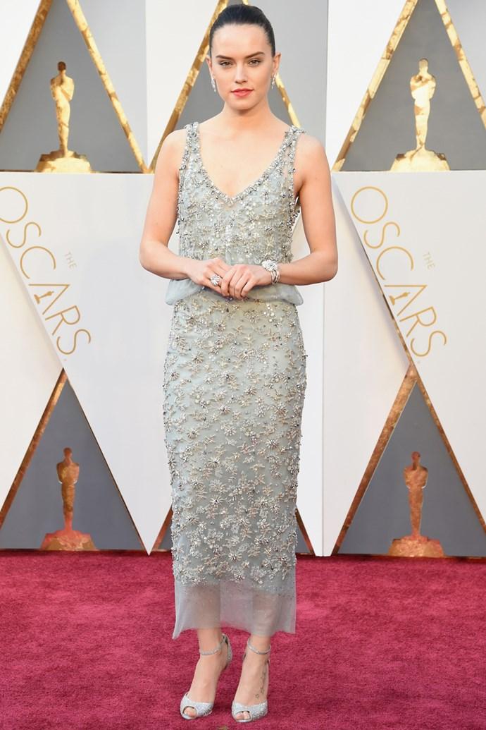 Daisy Ridley, an unsung hero at the Oscars
