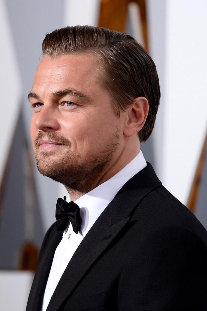 Leonardo DiCaprio at the 2016 Oscars