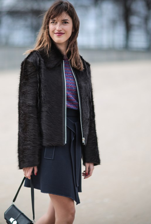 Jeanne Damas Nails French-Girl Chic At Paris Fashion Week AW16