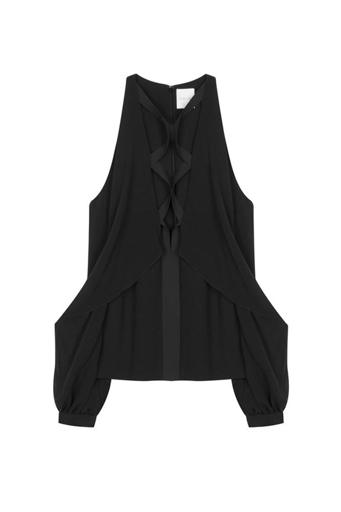 """<a href=""""https://www.mychameleon.com.au/laced-blouson-shirt-p-4092.html?sale_view=yes&typemf=women"""">Blouse, $553 (was $790), <strong>Dion Lee</strong> at mychameleon.com.au</a>"""