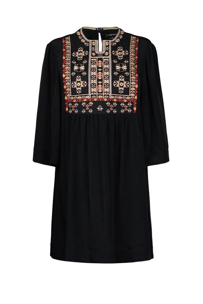 "<a href=""http://www.parlourx.com/sale/isabel-marant-ren-dress-black.html "">Dress, $695 (was $1695), <strong>Isabel Marant</strong> at parlourx.com</a>"