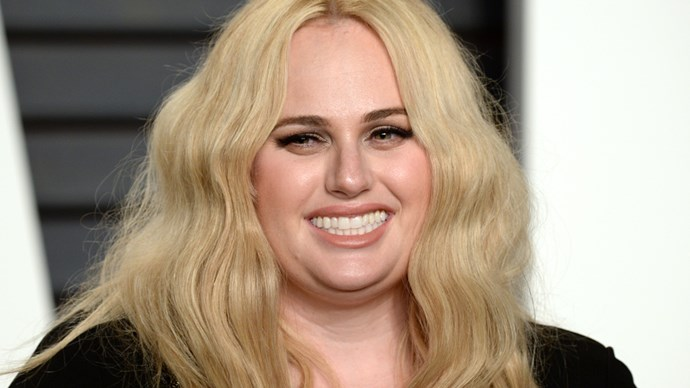 Rebel Wilson at the 2016 Vanity Fair Oscar Party