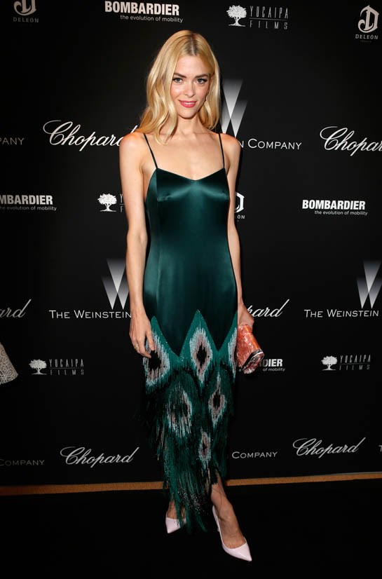 <strong>Jaime King, March 2014</strong> <br><br> The Weinstein Company's Academy Awards Party.