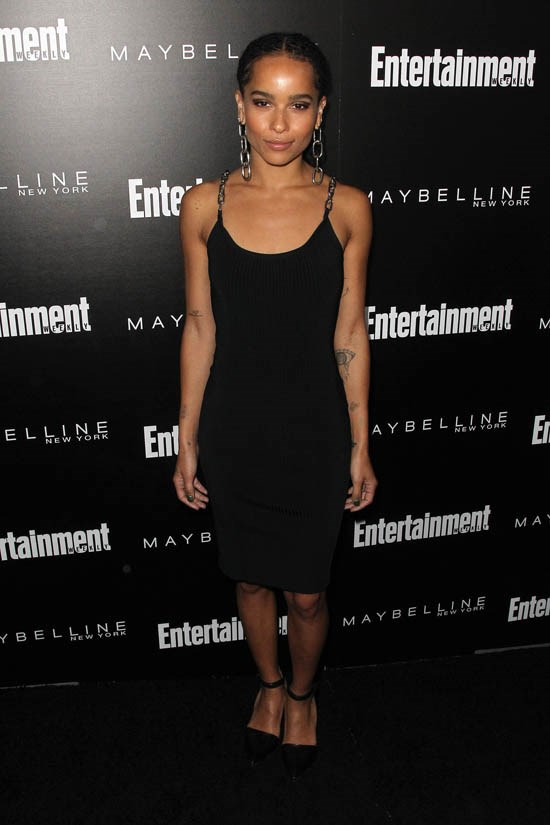 <strong>Zoë Kravitz, January 2016</strong> <br><br> Entertainment Weekly's Celebration honouring the 2016 SAG Awards Nominees.