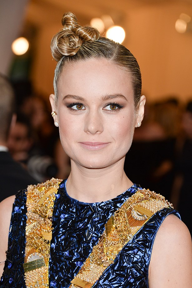 2014, An elaborate updo and sculpted cheekbones make a statement at the <strong>Met Gala</strong>.