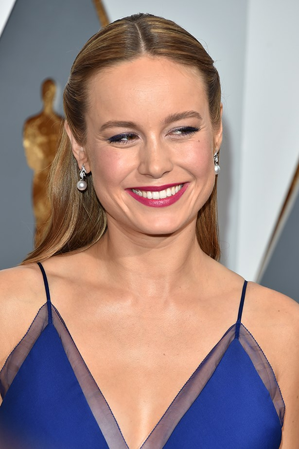 2016, Brie is the picture of a screen siren at the<strong> 88th Annual Academy Awards </strong>with a polished half-up half-down do and a plum pout.