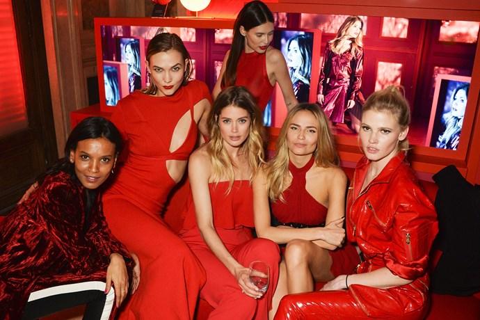 L'Oréal Paris' Red Obsession Party