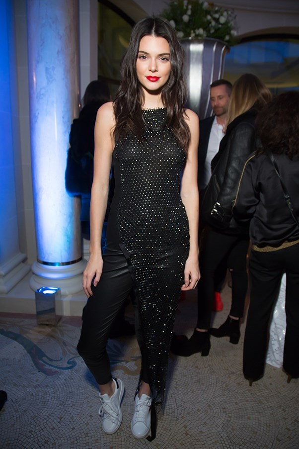 Kendall Jenner at the 2016 Editorialist Issue Launch party.