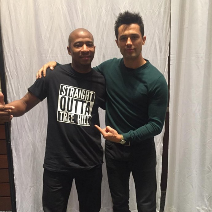Antwon Tanner, who played Antwon 'Skills' Taylor, and Stephen Colletti, who came on as Chase Adams after finding fame on <em>Laguna Beach: The Real Orange County</em>. Worlds collide, huh?<br><br> <em>instagram.com/antwontanner2214</em>