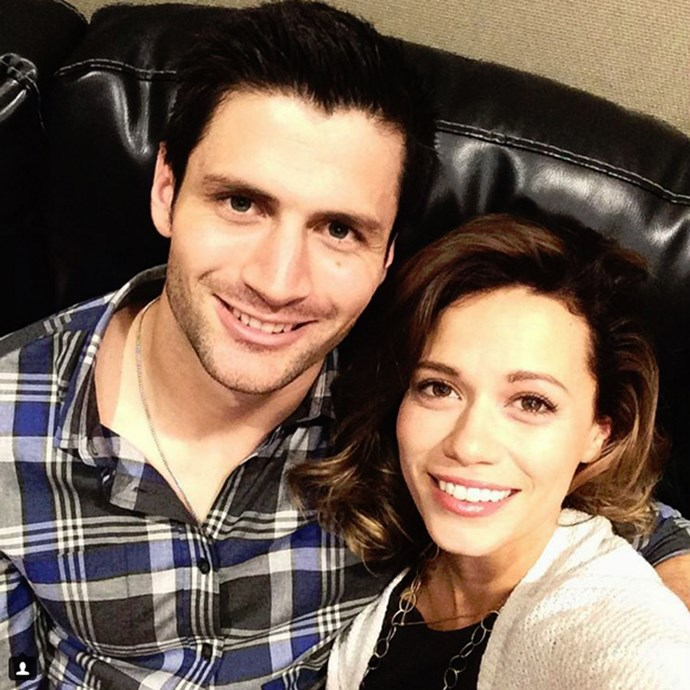 Nathan and Haley (AKA James Lafferty and Bethany Joy Lenz). YOU GUYS.<br><br> <em>instagram.com/joylenz</em>