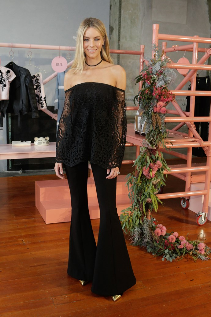 Jennifer Hawkins at Myer's Contemporary Brands Launch