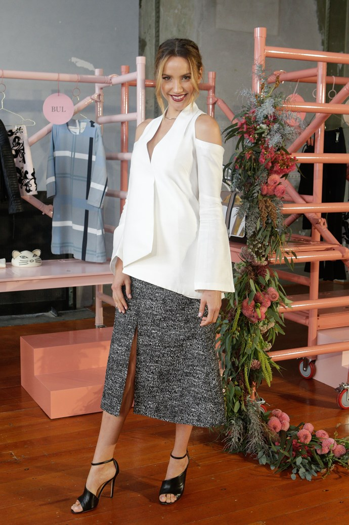 Rachael Finch at Myer's Contemporary Brands Launch