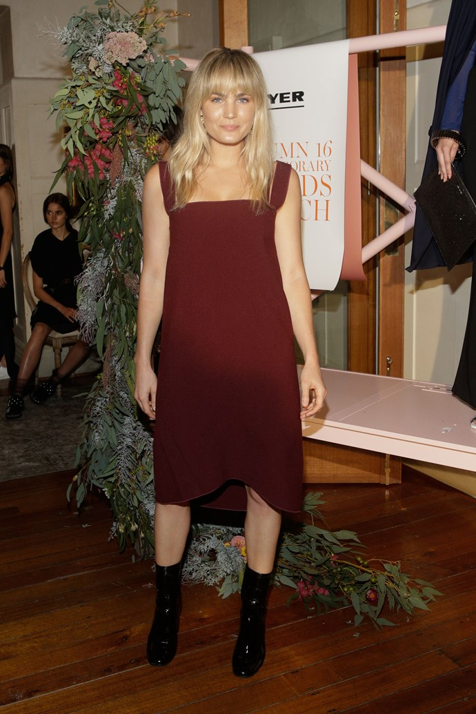Brooke Testoni at Myer's Contemporary Brands Launch