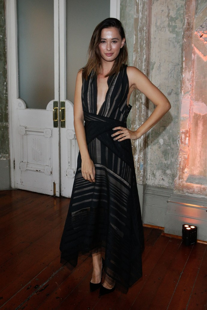 Eleanor Pendleton at Myer's Contemporary Brands Launch