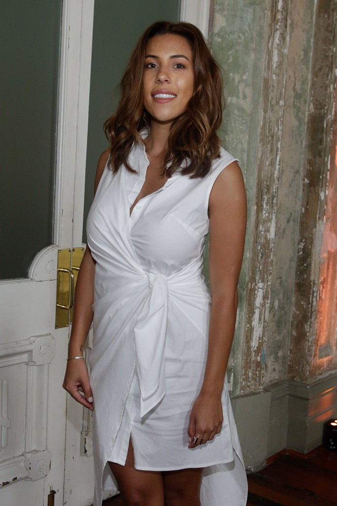 Devin Brugman at Myer's Contemporary Brand Launch