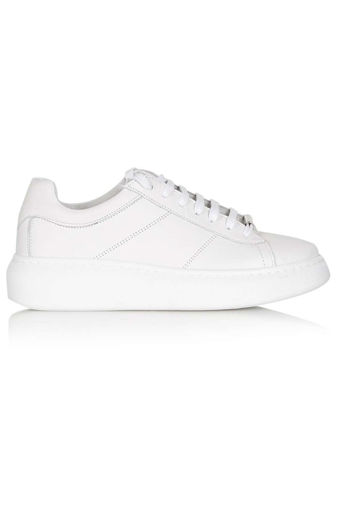 "<a href=""http://www.topshop.com/en/tsuk/product/shoes-430/sports-shoes-4966942/toulouse-lace-up-trainer-5087388?bi=0&ps=20"">Trainers, $99, Topshop</a>"