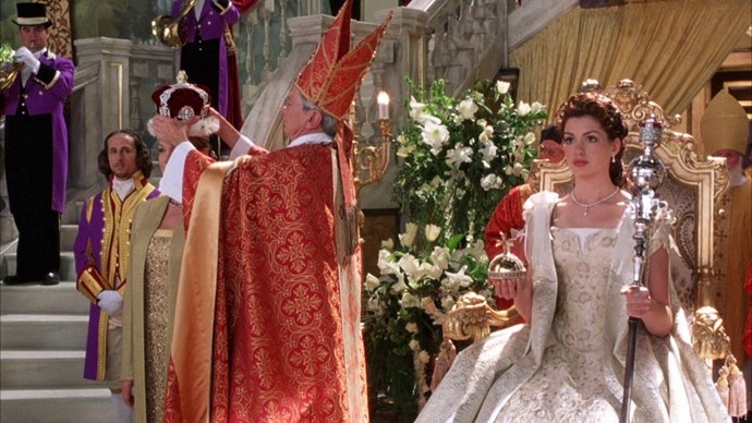 Princess Diaries with Anne Hathaway.