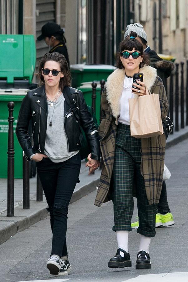 Kristen Stewart and SoKo.