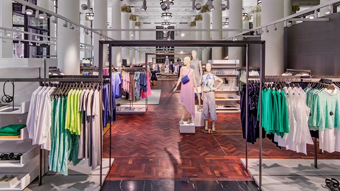 The Cos store in Sydney's Martin Place
