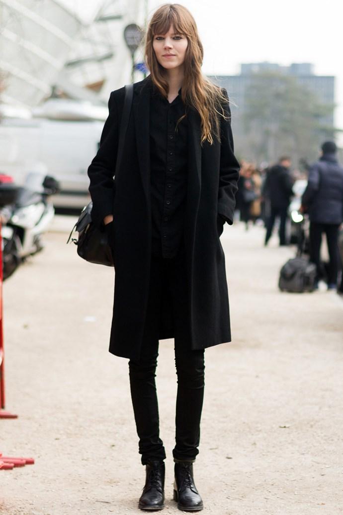 Freja Beha Erichsen in skinny jeans