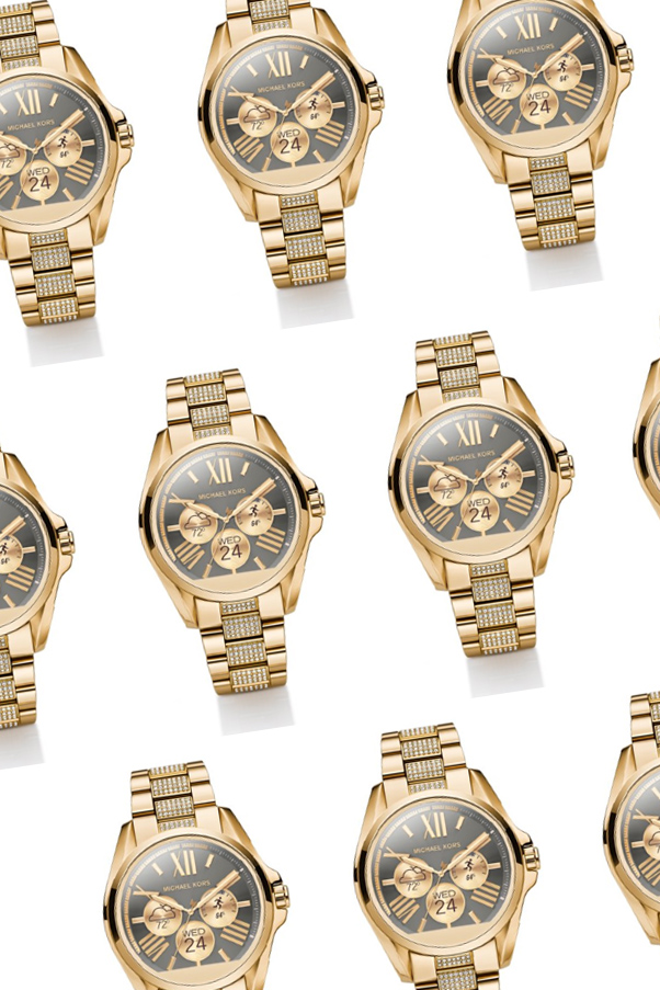 Michael Kors smartwatch.