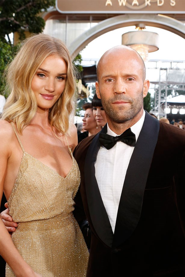 <strong>Rosie Huntington-Whiteley and Jason Statham</strong> confirmed their engagement in January.