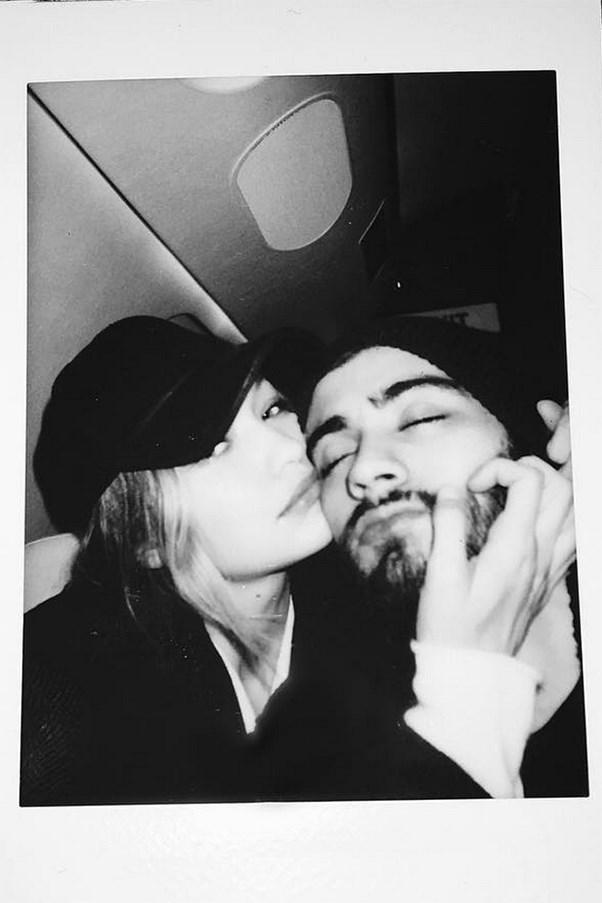 Zayn Malik and Gigi Hadid.
