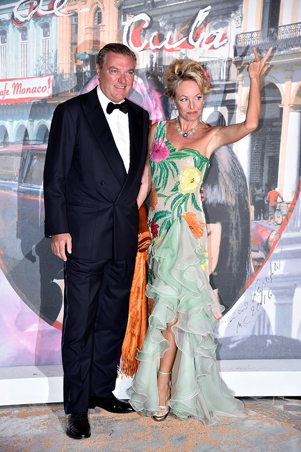 Prince Charles of Bourbon Two-Sicilies and Princess Camilla of Bourbon Two-Sicilies showed off their flare.